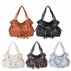 Women's Handbag Pu Leather Lady Shoulder Bag Tote Purse Messenger Hobo Crossbody