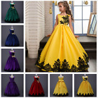 Kids Girl Flower Formal Occasion Pageant Princess Party Prom Wedding Dress Gown