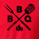 BBQ king summer tailgate grilling smoking barbeque meat pork beef T-Shirt