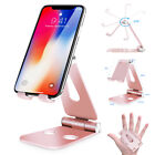 Universal Aluminum Phone Tablet Desk Stand Mount Holder For iPhone Samsung iPad