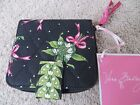 Vera Bradley Mini Zip Wallet Bi-fold, New Hope Piccadilly Plum Black  NWT!