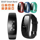 ID107 Plus Smart Watch Heart Rate Tracker Bracelet Monitor For Android IOS