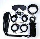 Unisex - Hot Portable 4 Color Optional 8 Pcs Sex Toys Ball Whip Eye Mask Fashion Set