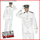 Fancy Dress CAPTAIN OFFICER AND A GENTLEMAN NAVY SAILOR Jacket Pants Gloves Hat