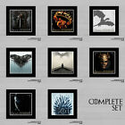 Game Of Thrones Season 1 - 8 Art Work - Must Have For Any Fan - Deluxe Mounted