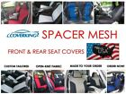 Custom Fit Front & Rear Coverking Spacer Mesh Seat Covers for Chevy Camaro