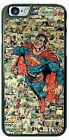 DC Comics Superman Coforful Comic background Phone Case for iPhone Samsung
