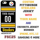 Pittsburgh Steelers NFL Phone Case Cover for LG G6 G5 G4 HTC One m9 Moto E G X
