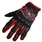 Urban Bike Riding Motorcycle Racing Bomber Gloves Carbon Guard Leather M L XL