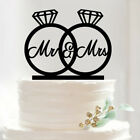 New Acrylic Cake Topper Mr & Mrs Wedding Engagement Party Decoration