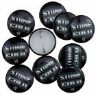 WWE Wrestling Stone Cold Logo Official Button Pin Badges
