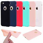 Touch Flexible Ultra thin ShockProof Soft TPU Case Cover for iPhone 5 S 6 7 Plus