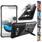 Heavy Hybrid Shockproof Stand Rugged Thin Case Cover For Samsung Galaxy J7 J5 J3