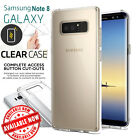 Samsung Galaxy Note 8 /S8+ Case Crystal Clear Slim Silicone TPU Protective Cover