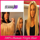 New Straight Flip on Remy Human Hair Extension One Piece Blonde 100g Double Weft