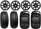 "STI HD5 14"" Beadlock MB UTV Wheels 28"" Sand Stripper/HP Tires Honda Pioneer 1000"