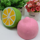 1pcs Soft Slow Rising Squishy Lemon Kawaii Squeeze Rebound Stress relief Toy Lot