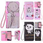 For Samsung Galaxy S8/S8 Plus Cute Pattern PU leather Kickstand Card Case Cover
