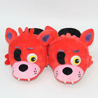 FNAF Five Nights at Freddy's Bear  Foxy The Pirate Pajama Plush Slipper Shoes