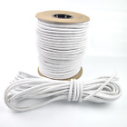 3 8 White Shock Cord Marine Grade Bungee Heavy Duty Tie Down Stretch Rope Band