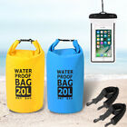 20L Waterproof Dry Bag For travelling boating hiking hunting snowboarding