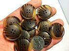 New lots of large Faux Tortoise Shell Buttons 1 1/8, in,=28mm  Blazer coat #T 7