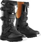 Thor Racing Motocross, Off-Road, ATV S4 Youth Blitz Boots Black Size 1 to 7