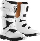 Thor Racing Motocross, Off-Road, ATV S4 Youth Blitz Boots White Size 1 to 7