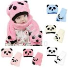 Lovely Warm Baby Kids Knitting Wool Slouch Baggy Outdoors Hat Scarf Set