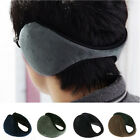 MENS LADIES UNISEX SOFT FLEECE WRAP AROUND ADJUSTABLE EARMUFFS EAR MUFFS