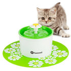 Hommii Fontaine à Fleur pour Chat Automatic Electric Pet Water Fountain Drinking