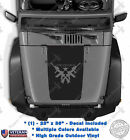 Come and Take It Hood Blackout M4 Guns Vinyl Decal fits: Jeep Wrangler JK TJ LJ