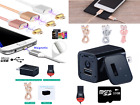 USB Wall Charger Hidden Camera Nanny Cam Spy Gadget Watch HD Motion Detection