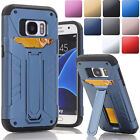 Full Body Hybrid Case Cover Built-in Kickstand For Samsung Galaxy S7 S7 Edge