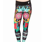IRON FIST 'SUGAR SUGAR' LEGGINGS - sport,atheltic,gym,skull,tattoo,rock,alt