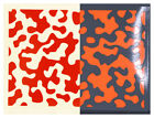 'CAMOUFLAGE' A4 Sheet Reflective Cycle Helmet Safety Stickers Decals - 7 Colours