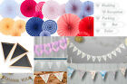 Hanging Wedding Signs / Decorations, Bunting, Banners, Direction Signs, Various