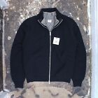 BNWT CP Company Heavy Wool Zip Jumper With Detachable Vest Size 4 2004 Vintage