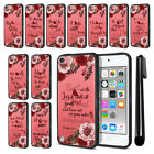 For Apple iPod Touch 5 (5th Gen) Bible Verses Design Bumper Case Cover + Pen