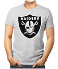 PRILANO Herren Fan T-Shirt - OAKLAND RAIDERS SUPER BOWL NFL  Small bis 5XL