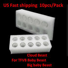 10x Replacement Pyrex Glass Tank Tube for SMOK TFV8 / Baby Beast /Big Baby Beast
