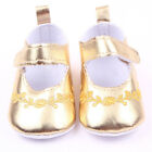 Newborn Cute Flower Baby Kids PU Leather Crib Shoes Girls Princess Soft Sole