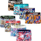8 PCS Pack Male Short Underwear Boxer Brief Printing Bamboo Trunks S-2XL