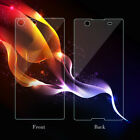 2X 9H Tempered Glass Screen Protector For Sony Z3 Z4 Z5 Premium Compact M4 M5
