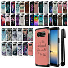 "For Samsung Galaxy Note 8 N950 6.3"" Design Hybrid Bumper Protective Cover + Pen"