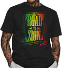 Reggae T-Shirt Jah Rasta Lion Of Judah Mount Zion  His Majesty Rastafari HIM