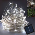 Waterproof 10M/33FT 100LED Solar Power Outdoor Fairy String Light Garden Party
