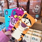 Cute Cartoon Animal Soft Shockproof Silicone Case Cover for iPhone 8 X 6S 7 Plus