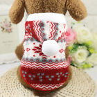 Small Pet Puppy Warm CuteHoodie Sweater Clothing Chihuahua Poodle Soft Dog Coat