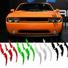 Headlight Claws Scratch Decal Universal fit Mustang Camaro Dodge Charger Durango $10.48 CAD on eBay